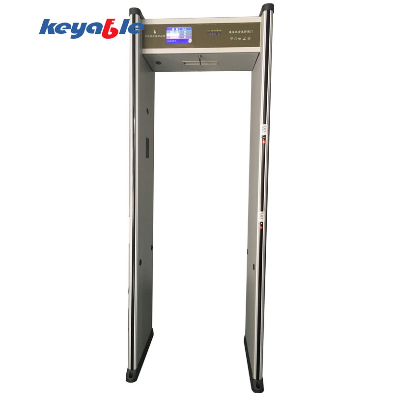 Infrared Temperature Thermometer Walk Through Metal Detector
