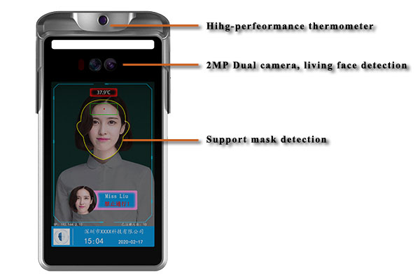 Keyable hot recommended body temperature scanner from China for importer-1