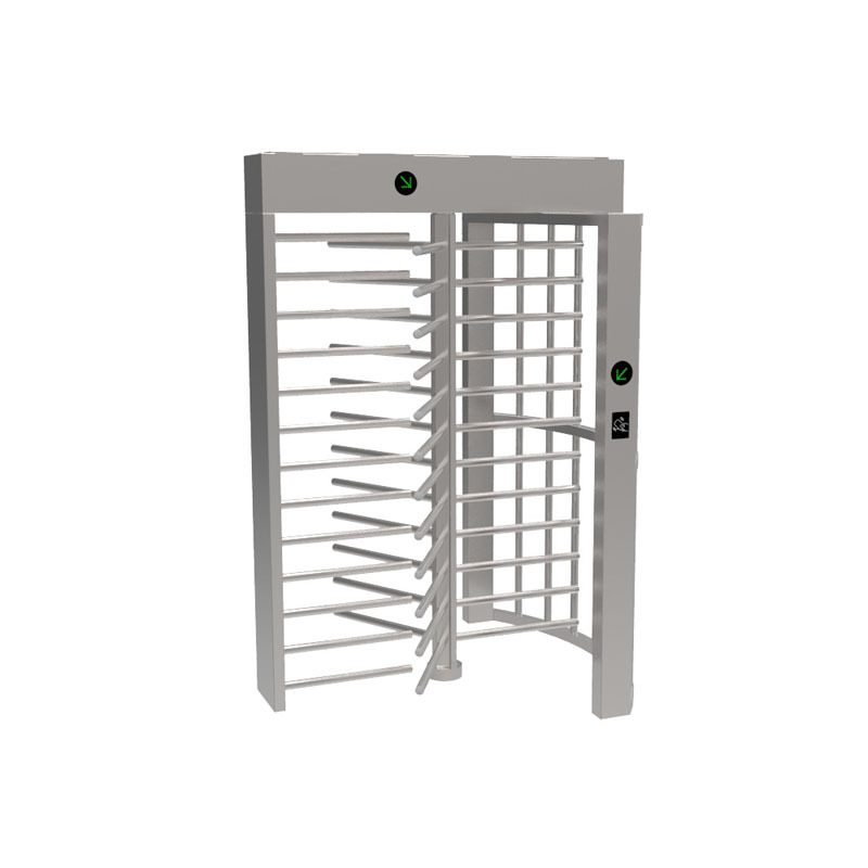 Rotating Metal Full Height Height Turnstile Gate
