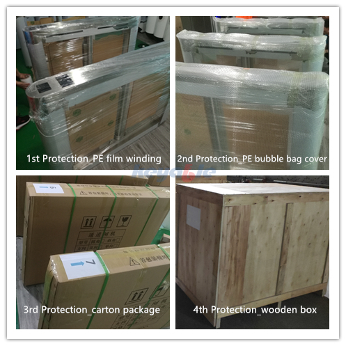 Packaging and protection of keyable turnstile gates/flap barrier/speed gates/swing barriers