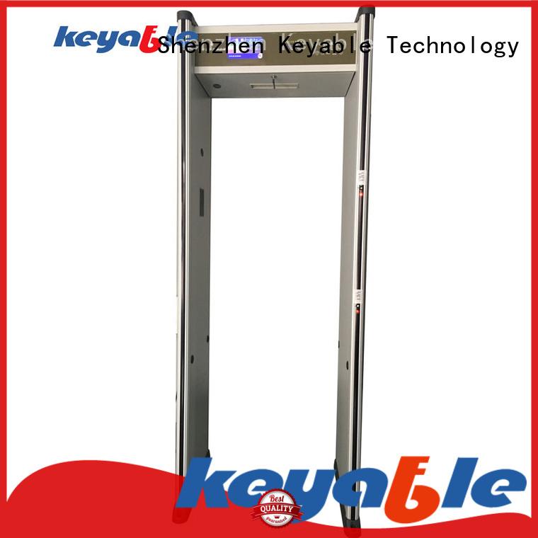 Keyable walk through metal detector solution expert for banks